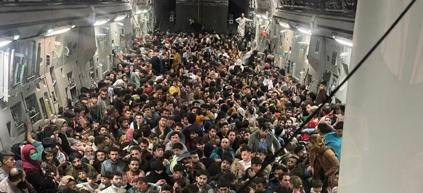 Fill Every War Plane with Refugees