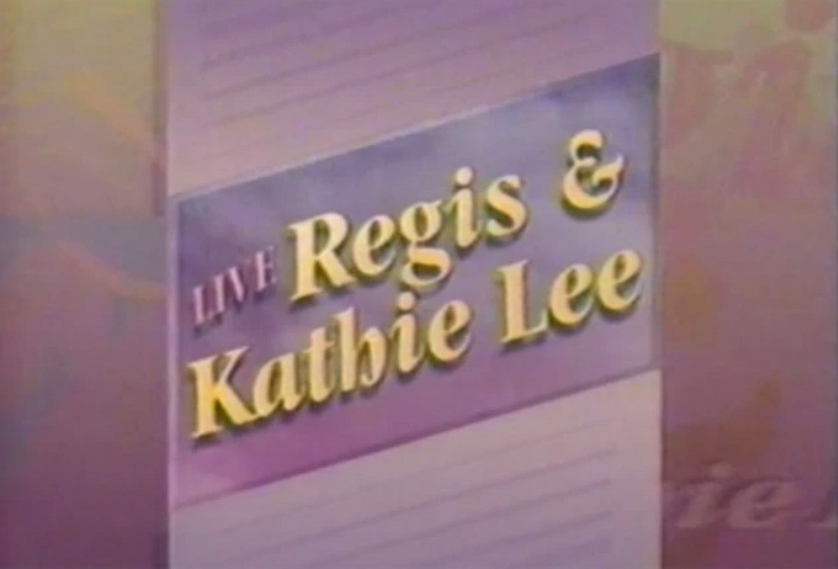 Live! with Regis and Meg